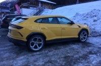 Супер-внедорожник Lamborghini Urus замечен в австрийских Альпах