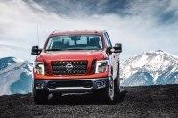 Пикап Nissan Titan получит более экономичный мотор V6 от модели Frontier
