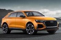 Кроссовер Audi Q8 снова сняли на видео