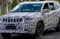 Новый большой внедорожник Jeep «спалился» на тестах