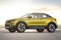 Кроссовер Volkswagen T-Cross официально дебютирует в 2018 году
