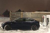 Tesla Model 3 установил рекорд гонки «Пушечное ядро»