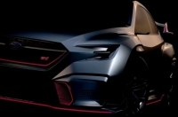 Subaru показала скетч «заряженного» седана Viziv Performance STI