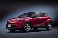 Toyota C-HR стал самым популярным кроссовером на домашнем рынке