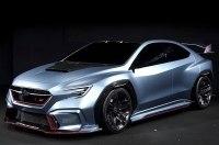 Subaru построила «заряженный» карбоновый седан