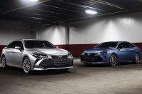 Новый Toyota Avalon: гигантская решетка, гибрид и 24-сантиметровый проекционник