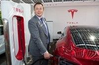 Маск может превратить зарядные станции Tesla Supercharger в развлекательные хабы