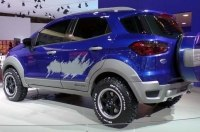 Серийный Ford EcoSport Storm рассекретили в сети