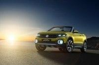 Кроссовер Volkswagen T-Cross дебютирует на автосалоне в Париже-2018