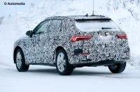 Audi тестирует кроссовер Q3 нового поколения
