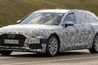 Универсал Audi A6 нового поколения впервые замечен на тестах