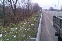 Ужесточат наказание за мусор на дорогах