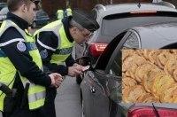 Водитель съел фуа-гра и получил за это штраф