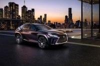 Серийный кроссовер Lexus UX дебютирует в Женеве