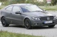 Шпионы обнаружили спортивное купе С-класса Mercedes