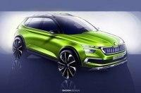 Новый «паркетник»: Skoda показала кроссовер Vision X Concept