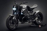 Китайский кастом на базе мотоцикла BMW R NineT