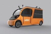 Стартап Udelv представил беспилотный электрокар службы доставки