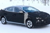 Hyundai тестирует полностью электрический седан Elantra