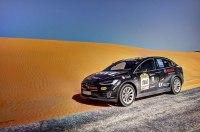 Tesla Model X первым из электрокаров пересек Сахару
