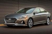 В Чикаго дебютировал обновлённый гибрид Hyundai Sonata