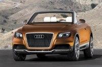Audi придумала необычную крышу для большого кроссовера-кабриолета