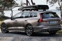 Новый Volvo V60 раскрыли до премьеры