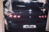 Новый Peugeot 508: первые изображения