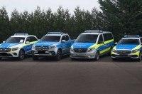Mercedes подготовил целую линейку автомобилей для полиции
