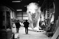 Peugeot привезет в Женеву огромного льва