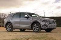 Посмотрите на новый Volkswagen Touareg в динамике