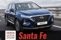 «Премиальный» Hyundai Santa Fe представлен на Женевском автосалоне