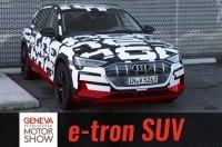 Audi в Женеве проказала прототип полностью электрического кроссовера e-tron