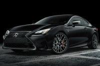 Lexus везёт в Нью-Йорк особое купе RC Black Line