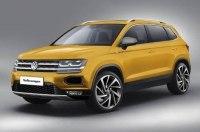 Новый глобальный кроссовер Volkswagen: первые изображения