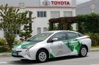 Toyota научила Prius работать на спирте