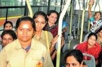 В Индии появились «женские» автобусы