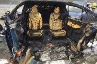 Смертельное ДТП с Tesla Model X: электромобиль разорвало на части