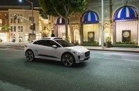 Электрический кроссовер Jaguar превратили в беспилотник
