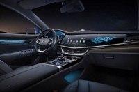 Geely продемонстрировала интерьер гибридного Emgrand GT
