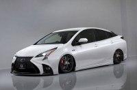 Тюнер из Хиросимы придумал Prius с «мордой» от Lexus