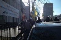 Обладатели нерастаможенных авто устроили митинг под Радой