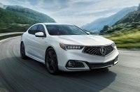 Обновлённый седан Acura TLX поступил в продажу