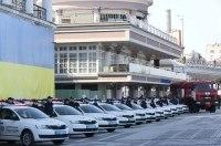 Полиция получила еще 102 автомобиля Skoda Rapid