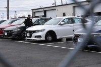 Четыре новые «Хонды» лишились колес на парковке дилера