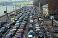 ДТП и ремонт дорог: Утром четверга Киев парализовали пробки