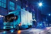 Volvo представила свой первый электрический грузовик