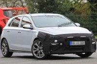 Спортивная версия Hyundai i30 впервые замечена на тестах