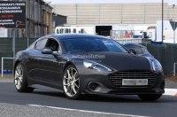 «Заряженный» Aston Martin Rapide AMR тестируют на Нюрбургринге