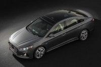Озвучены цены обновлённого седана Hyundai Sonata Hybrid